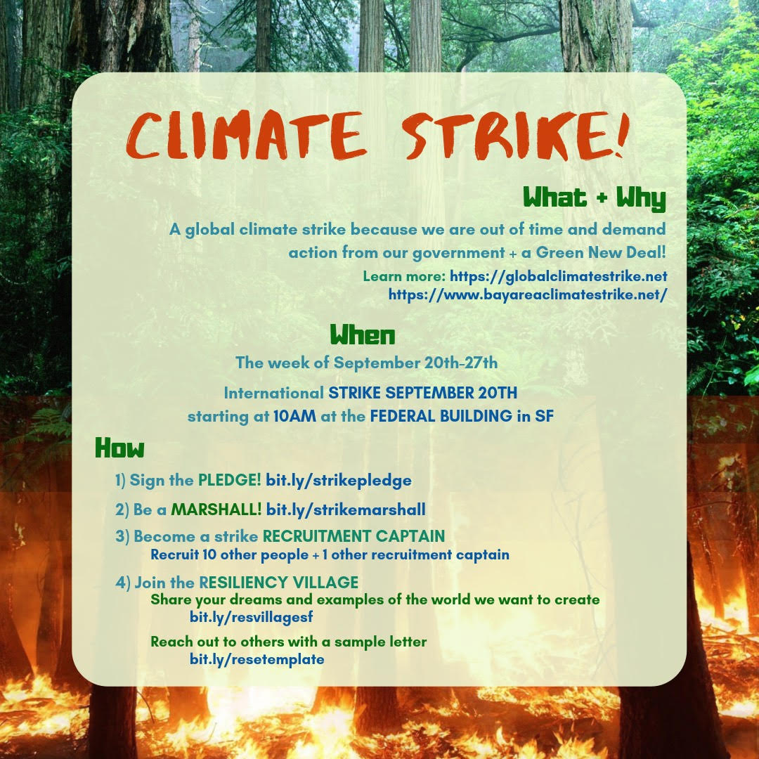 Strike for Climate Justice – Youth Strike September 20 ...